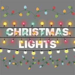 Christmas Lights Stickers