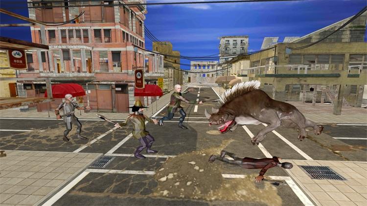 Angry Monster Simulator 2017: Giant Beast screenshot-3