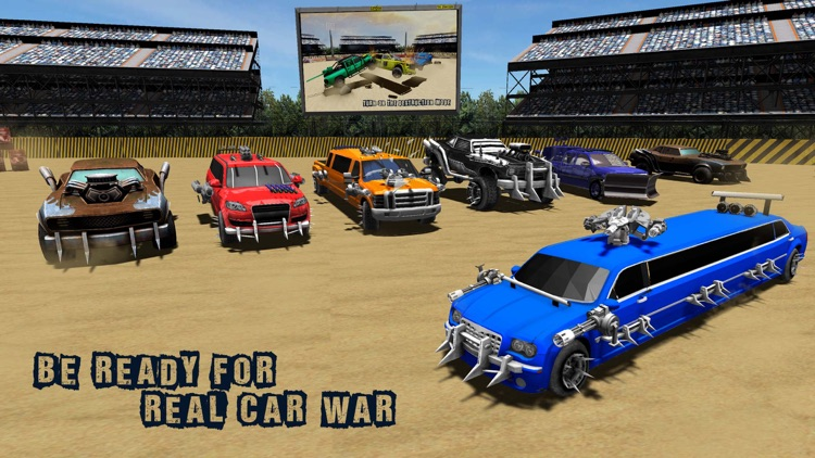 Limo Xtreme Demolition Derby – Death Racing screenshot-3