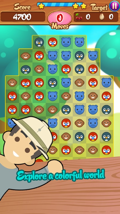 Cute Safari: Match 3 Puzzle screenshot-4