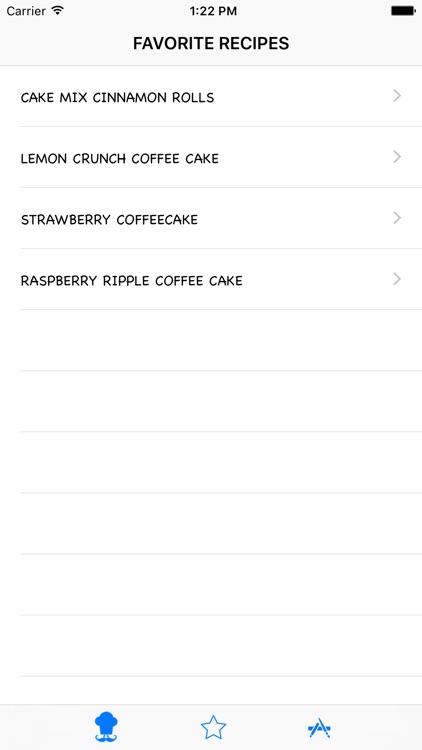 Cakes Recipes HD screenshot-3