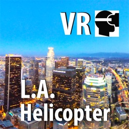 VR Los Angeles Night Helicopter Virtual Reality