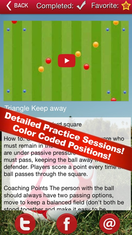 Soccer Coaching Drills