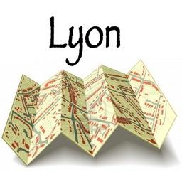 Maps of Lyon, France