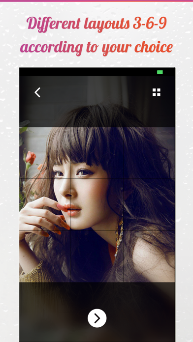 Screenshot for IG Grid Post Pro - Crop Photos For Insta Profile in United States App Store