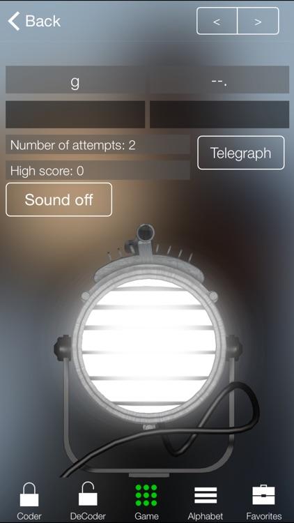 Learn Morse Code screenshot-0
