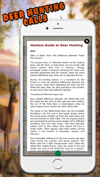 Easy Deer Hunting Calls Pro: Finest Hunting Calls screenshot-3