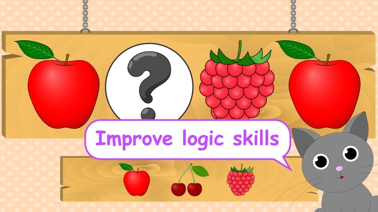 Logic game for toddlers kids learning games todd