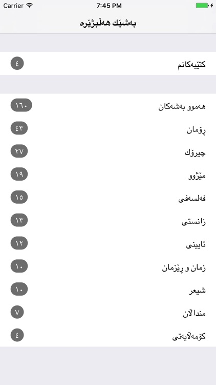 Kurdish Books - كتێبخانه ی كوردی screenshot-3