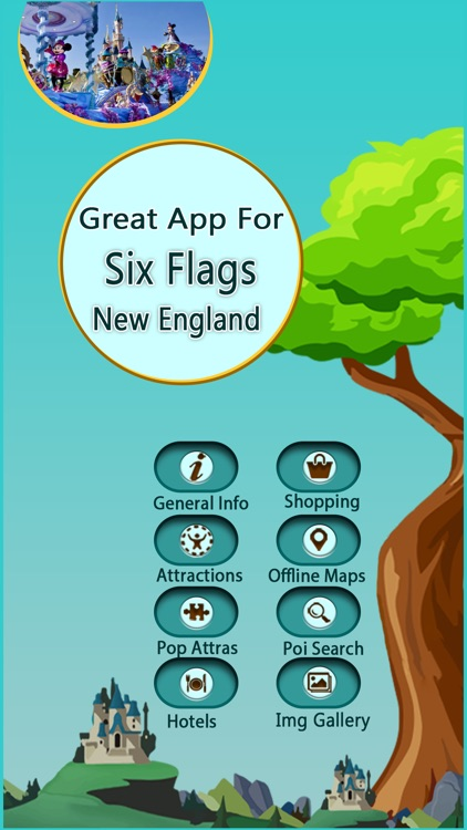 Great App To Six Flags New England