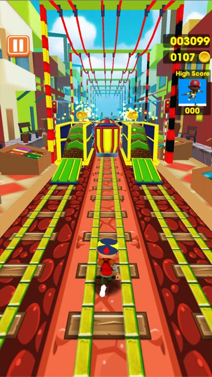 B Boy Surfers : New Train Running screenshot-3