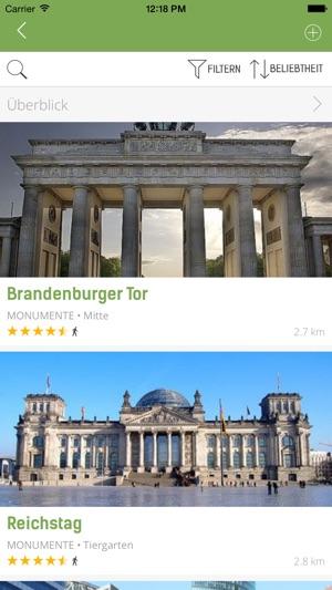 Berlin Reiseführer (mit Offline Stadtplan) - mTrip Screenshot