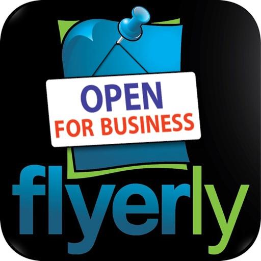 Flyerly Biz - Create & Share Flyers For Business iOS App