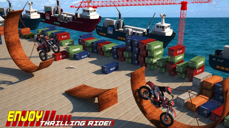 Xtreme Bike Racing Stunt Free screenshot-3