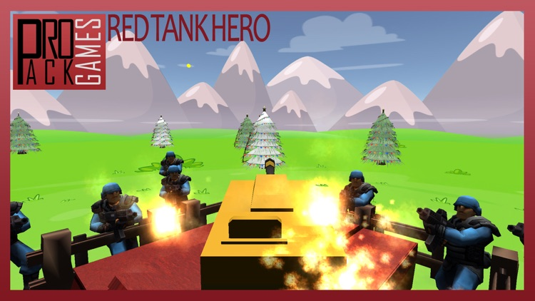 Red Tank hero lite : Trigger the pocket bomb army screenshot-4