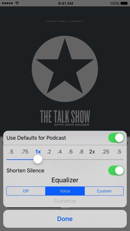 HardCast - Podcast Player screenshot-4