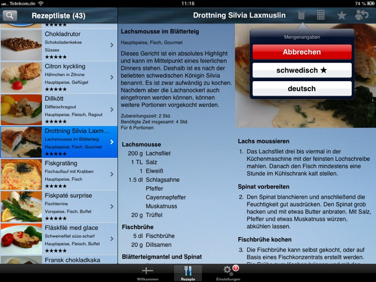 Köttbullar - Die Koch-App screenshot-3