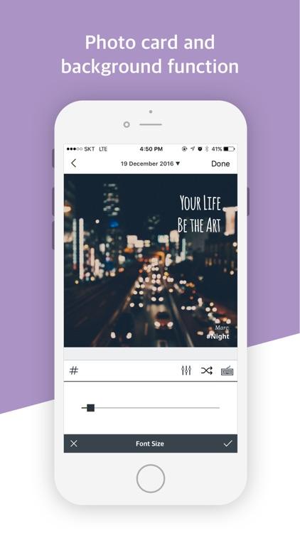 Paletto - Typo Filter to diary screenshot-3