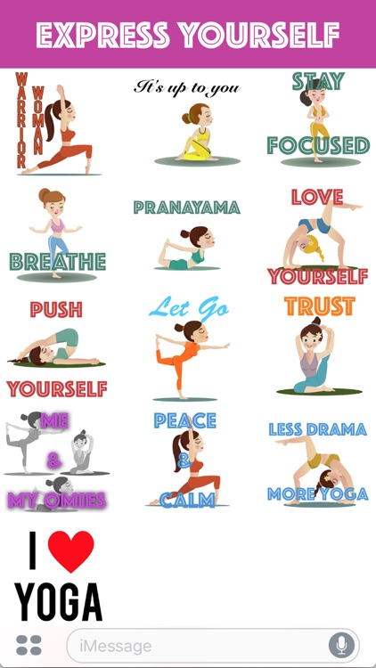 Yoga Emoji screenshot-2