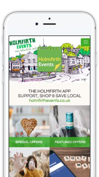 Holmfirth App screenshot one