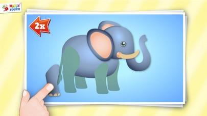 Animiertes Tier Puzzle für Kinder von HAPPYTOUCH®Screenshot von 3