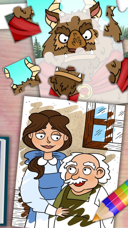 Beauty and the Beast classic short stories - Pro app image