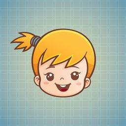 Sticker Me Cute Golden Girl