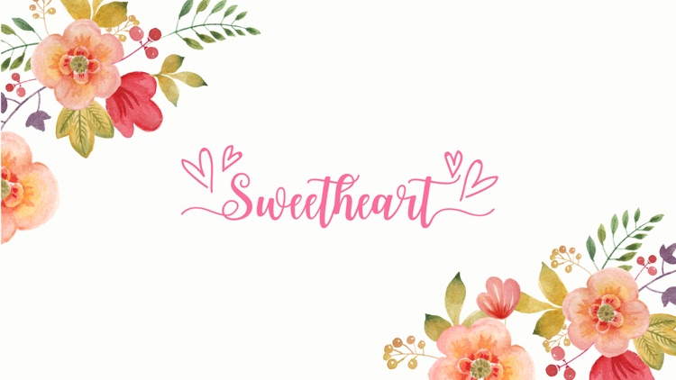 Valentine's Day Lettering Stickers screenshot-3
