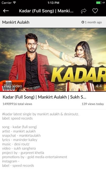 Punjabi Video Songs screenshot-3