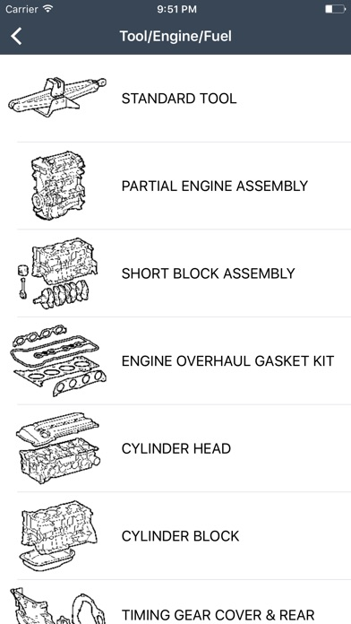 Toyota & Lexus Car Parts - ETK Parts for Toyota app image