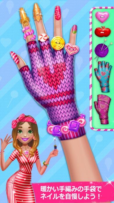 キャンディ・ネイルアート - スウィートなファッション・エステのゲームのスクリーンショット5