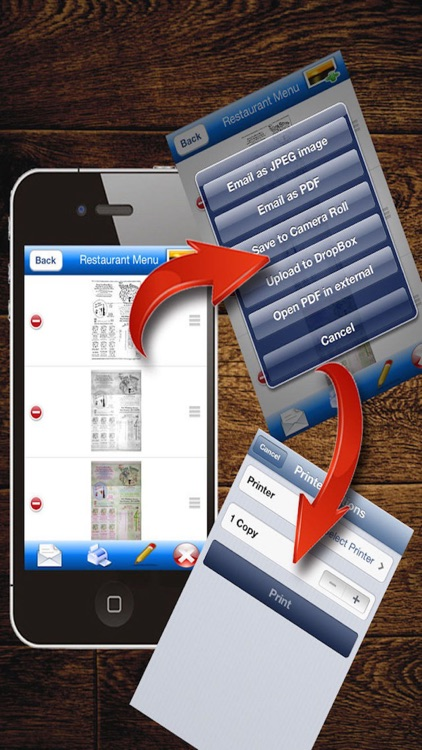 MyScan: capture and share PDF screenshot-3
