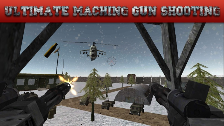 Gunship Rescue Force Battle Helicopter Attack Game screenshot-3