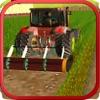 草坪修剪和收获3D养殖拖拉机模拟器