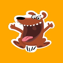 Doggy Dog Tap Pet Stickers for iMessage