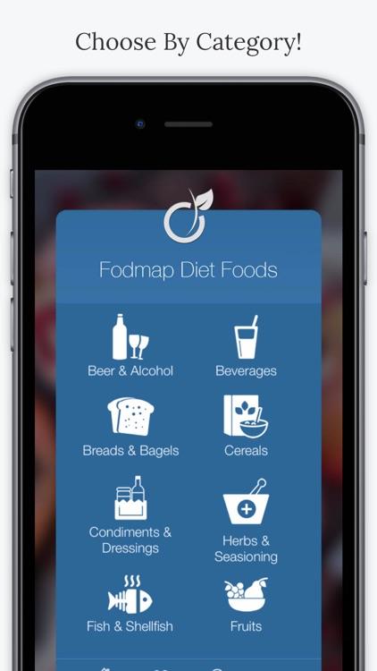 FODMAP Diet Foods.