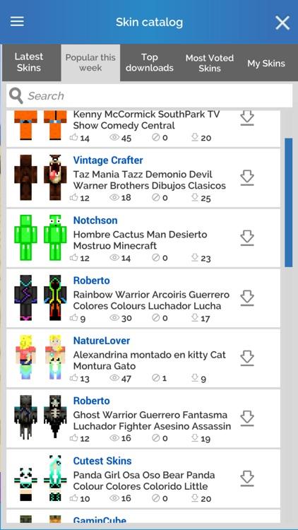3D Skin Editor for Minecraft screenshot-3