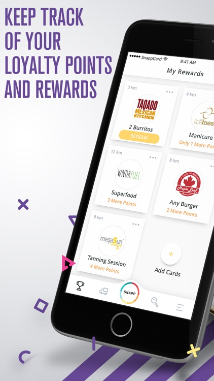 SnappCard - Your Rewards App screenshot-0