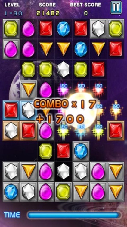 Jewel Deluxe Mania - Match 3 Splash Free Games screenshot-3