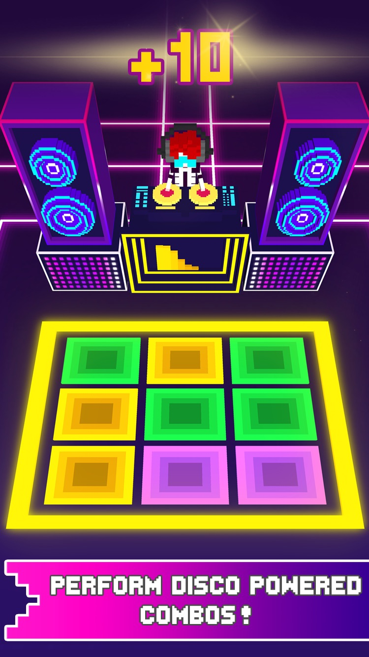 Disco Dave - Best cool dance free game for kids Screenshot