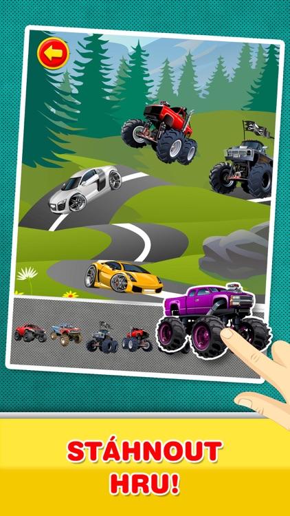 Auta, Kamiony a vozidla : Kreativní hra pro děti screenshot-4