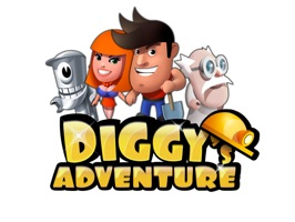Diggy's Adventure Stickers