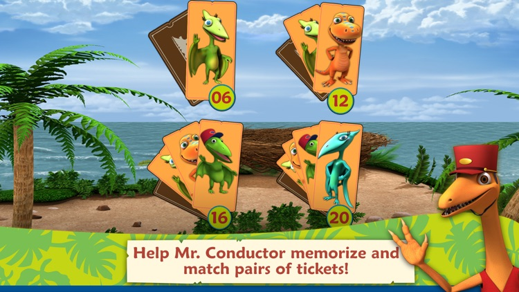 Dinosaur Train: Paint and Match screenshot-3