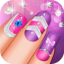 Nail Fashion Beauty Salon Girls Game