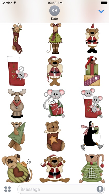 Christmas Stickers #1 for iMessage