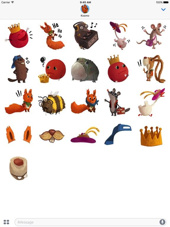 Kosmo & Klax: Sticker-Fun! screenshot 9