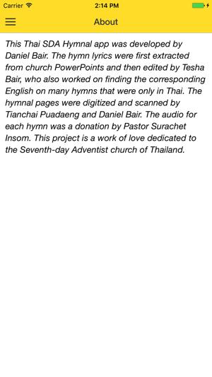 Thai SDA Hymnal on the App Store
