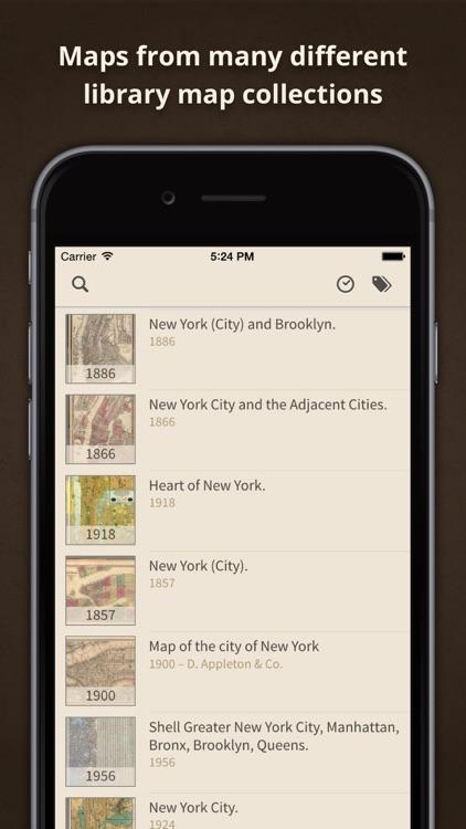 Old Maps Online by Klokan Technologies