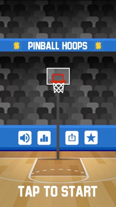 Pinball Hoops screenshot one