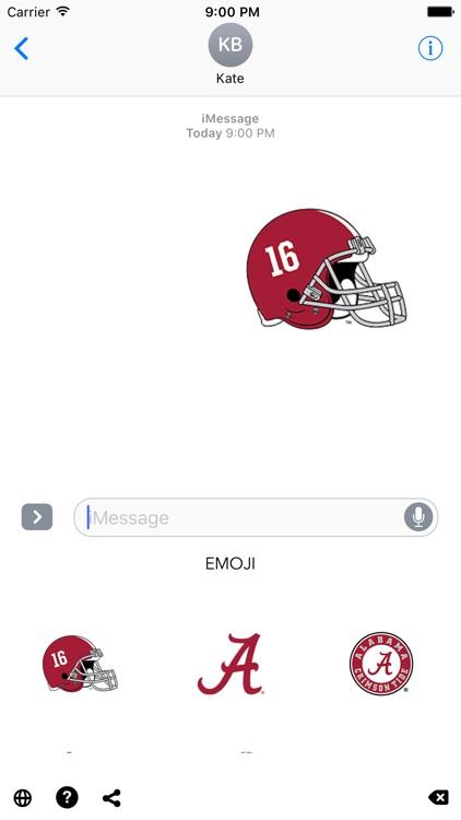 Alabama Emoji screenshot-3